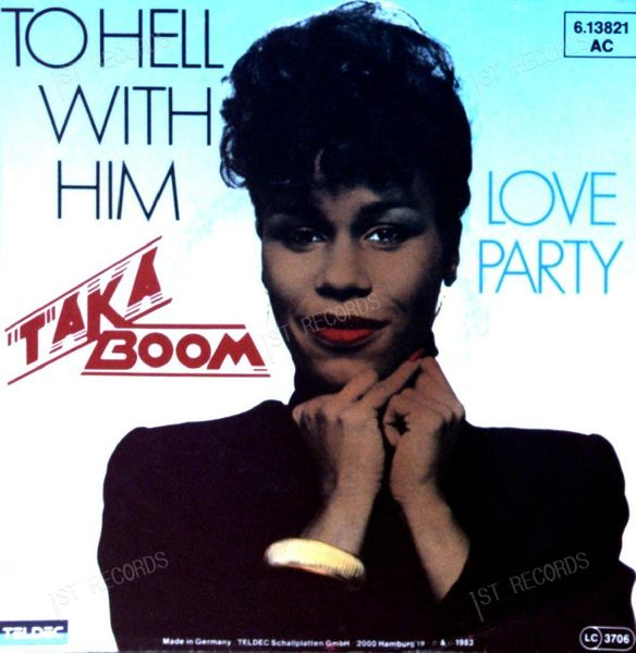 Taka Boom - To Hell With Him GER 7in 1983 (VG+/VG) (VG+/VG)