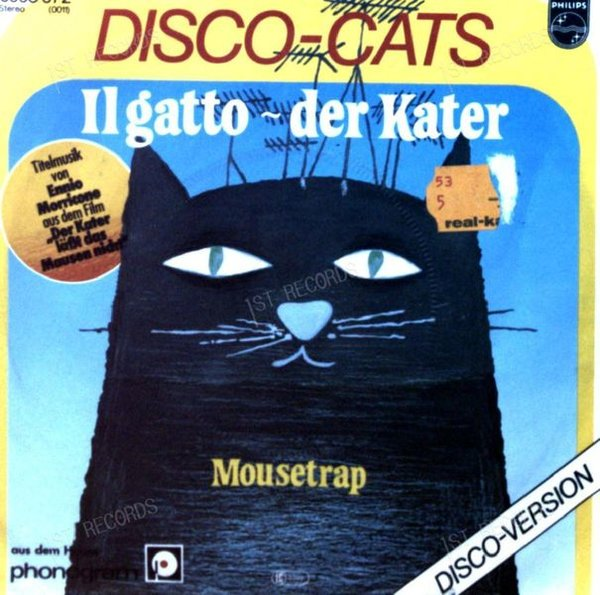 Disco-Cats - Il Gatto - Der Kater / Mousetrap GER 7in 1978 (VG+/VG)