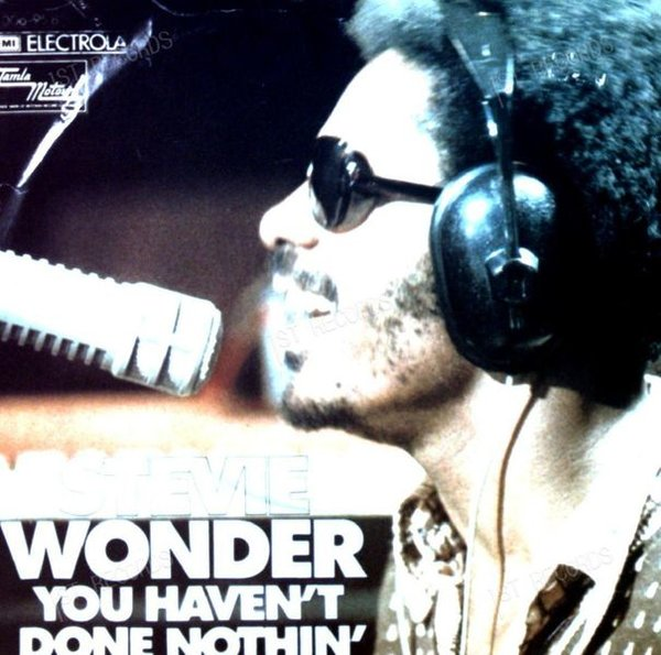 Stevie Wonder - You Haven't Done Nothin' GER 7in 1974 (VG+/VG) (VG+/VG)
