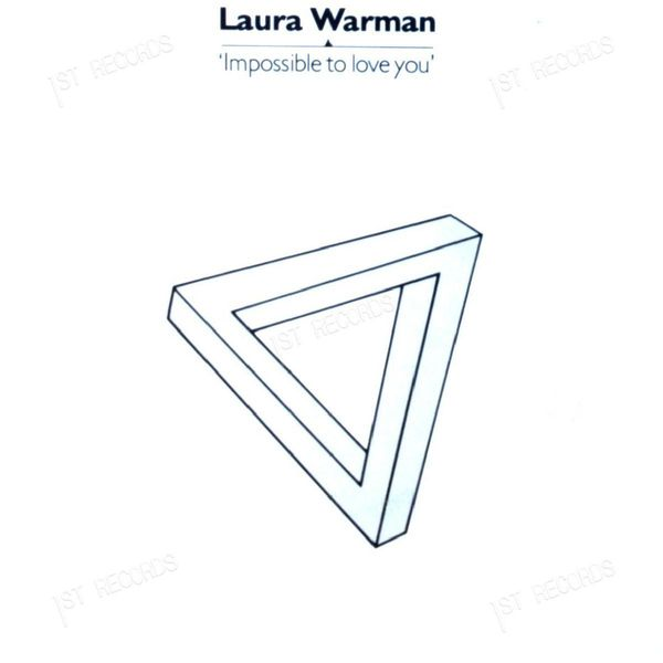 Laura Warman - Impossible To Love You UK 7in 1980 (VG/VG) (VG/VG)