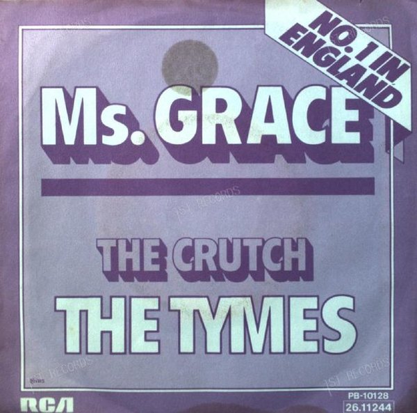 The Tymes - Ms. Grace 7in 1974 (VG/VG) (VG/VG)
