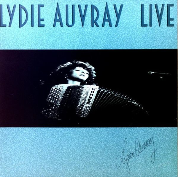 Lydie Auvray - Live LP 1989 (VG+/VG+) (VG+/VG+)