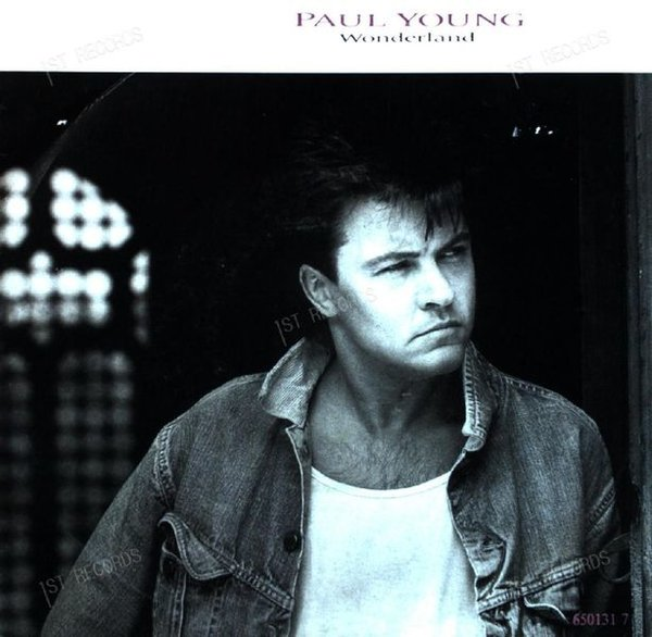 Paul Young - Wonderland 7in 1986 (VG/VG)