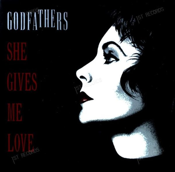 The Godfathers - She Gives Me Love 7in 1989 (VG/VG)