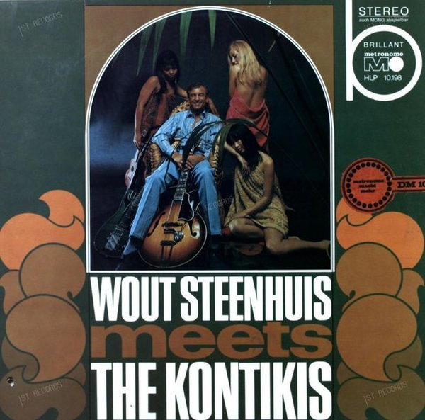 Wout Steenhuis Meets The Kontikis - Wout Steenhuis Meets Kontikis LP 1967 (VG+/VG+)