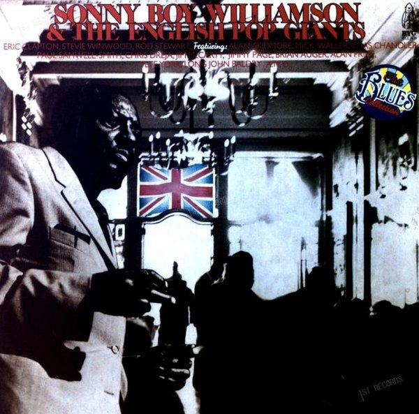 Sonny Boy Williamson - Sonny Boy Williamson & The English Pop Giants 2LP (VG+/VG+)