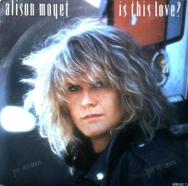 Alison Moyet - Is This Love? 7in 1986 (VG+/VG+)
