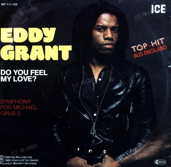 Eddy Grant - Do You Feel My Love? 7in 1980 (VG+/VG+)