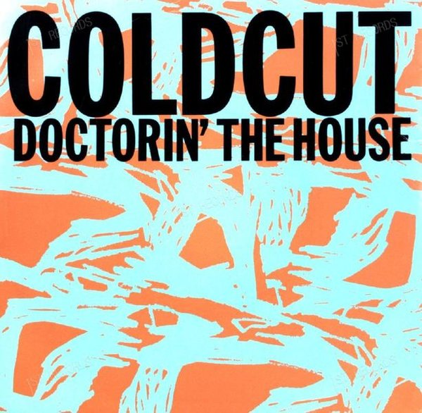 Coldcut - Doctorin' The House 7in 1988 (VG+/VG+)