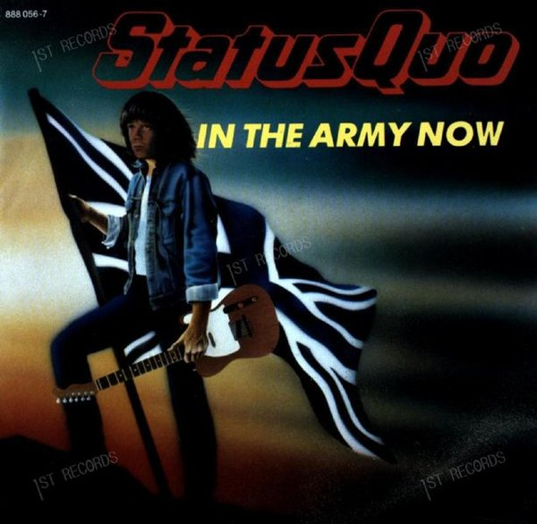 Status Quo - In The Army Now 7in 1986 (VG+/VG+)