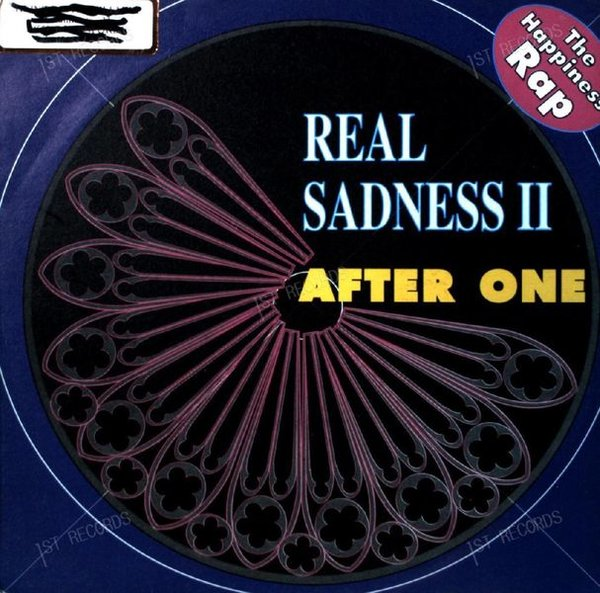 After One - Real Sadness II 7in 1990 (VG+/VG+)