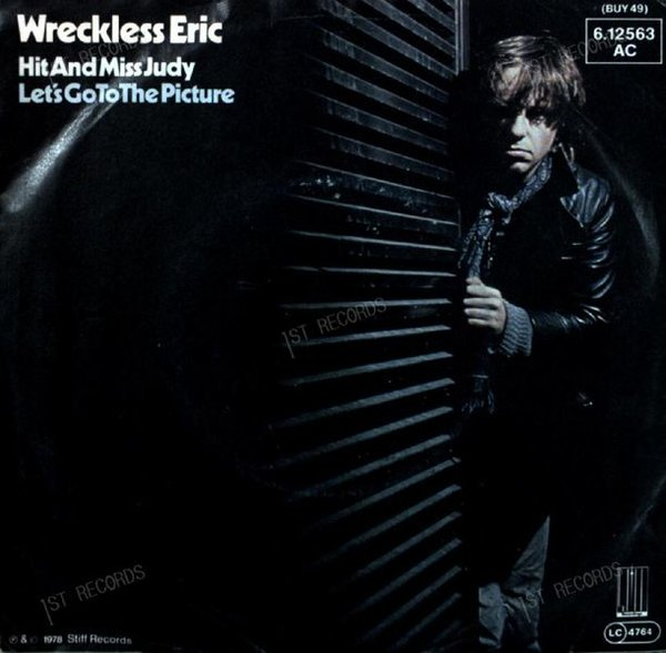 Wreckless Eric - Hit And Miss Judy 7in 1979 (VG+/VG+)
