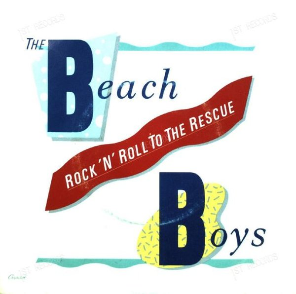 The Beach Boys - Rock 'N' ´Roll To The Rescue 7in 1986 (VG/VG)
