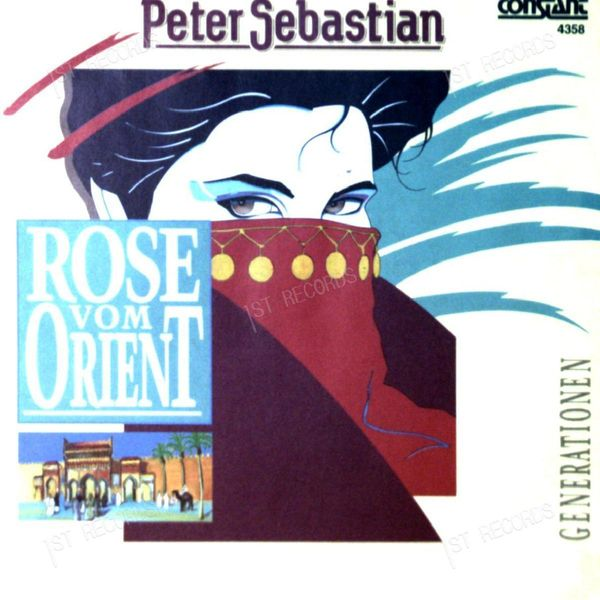Peter Sebastian - Rose Vom Orient 7in 1989 (VG+/VG+)