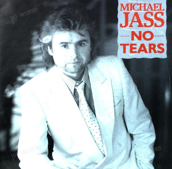 Michael Jass - No Tears 7in 1985 (VG+/VG+)
