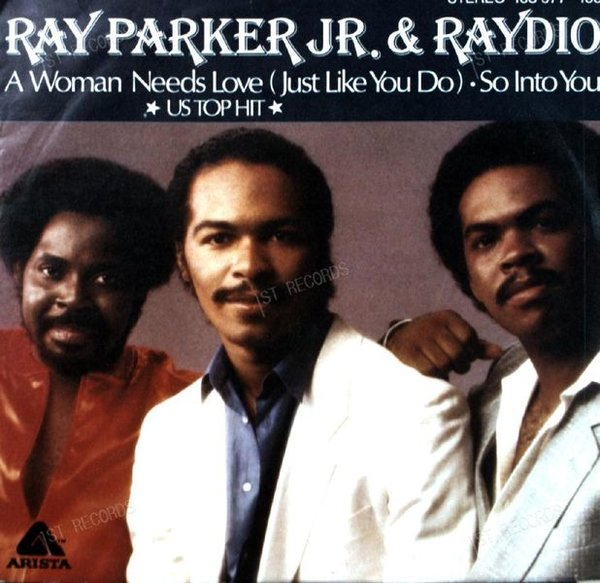 Ray Parker Jr. & Raydio - A Woman Needs Love (Just Like You Do) 7in 1981 (VG+/VG+)