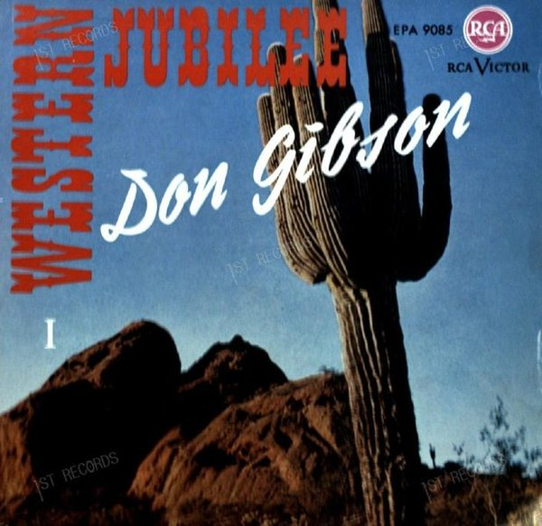 Don Gibson - Western Jubilee I 7in (VG+/VG)