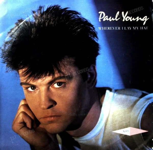 Paul Young - Wherever I Lay My Hat 7in 1983 (VG/VG)