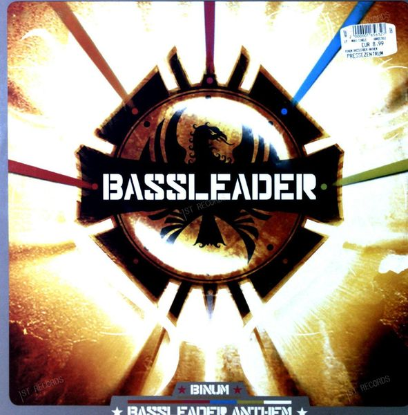 Bass Leader - The Anthem Maxi 2006 (VG+/VG+)