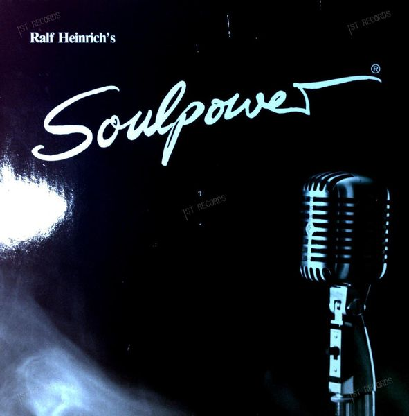 Ralf Heinrich's Soulpower - Straight On LP (VG/VG)