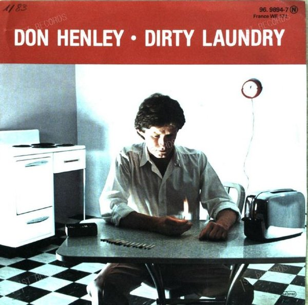 Don Henley - Dirty Laundry 7in 1982 (VG+/VG+)