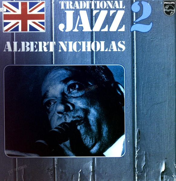 Albert Nicholas - Traditional Jazz 2: Memories Of Albert Nicholas LP (VG+/VG+)