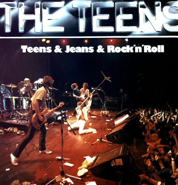 The Teens - Teens & Jeans & Rock 'n' Roll LP 1979 (VG/VG)