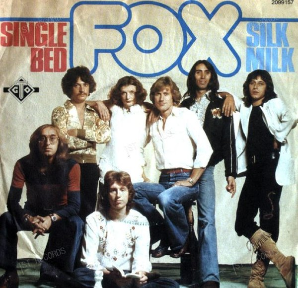 Fox - S-S-S-Single Bed / Silk Milk 7in 1976 (VG/VG)