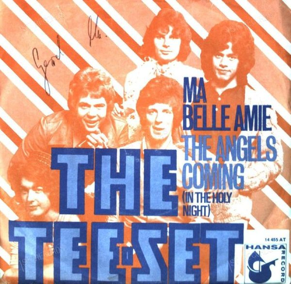 The Tee-Set - Ma Belle Amie / The Angels Coming (In The Holy Night 7in 1970 (VG/VG)
