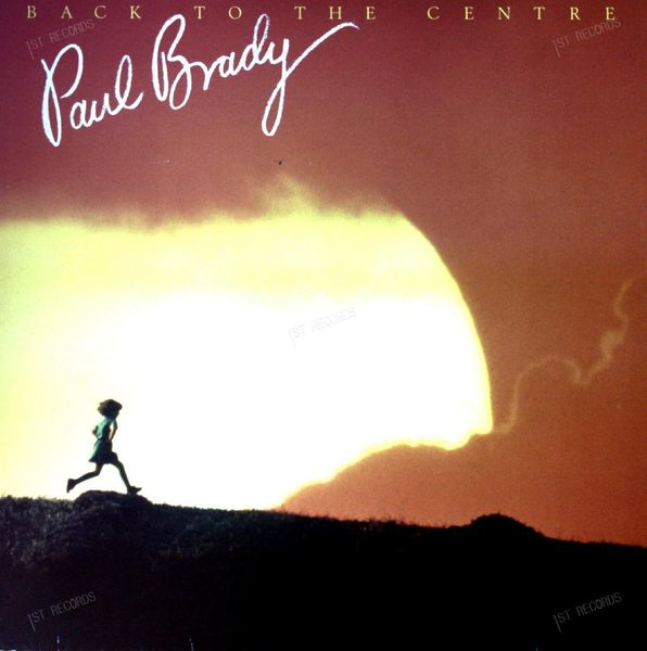 Paul Brady - Back To The Centre LP 1986 (VG+/VG+)
